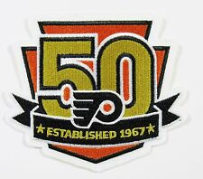 LOT OF (1) HOCKEY (NEW) PHILADELPHIA FLYERS (50 YEAR)  PATCH PATCHES ITEM # 93