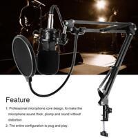BM-800 Cardiod Condenser Capacitor Microphone Music Audio Studio Recording Mic