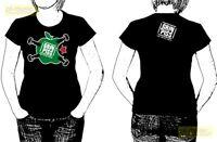 t-shirt  woman's GRIN PISS rozmiar - M size - koszulka damska