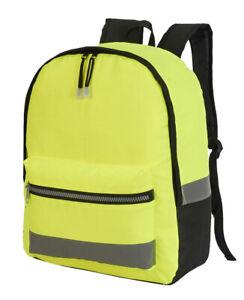 Shugon Gatwick Hi-Vis Commuter Workwear Backpack/Rucksack -SH1340