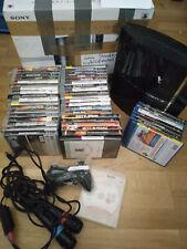 Sony PS3 FAT Konsole 80Gb OVP +1 Controller + Spiele + MikrofonE Starter X1