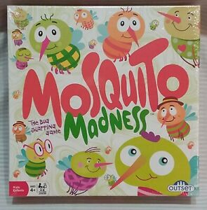 Mosquito Madness The Bug Slapping Game 2-8 Players New