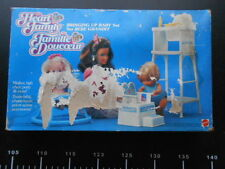 HEART FAMILY Baby Set Bringing Up Grandit Bebe Mummy Mattel Vintage BARBIE
