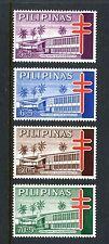 Philippines B26-B29,MNH.Michel ZW15-ZW18. Red Cross 1964.TB pavilion.