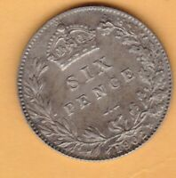 MATT PROOF 1902 EDWARDIAN SILVER SIXPENCE IN MINT CONDITION