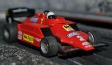 Tyco 440 Ferrari F1 corto nariz #2 Escala Ho ranura de coche