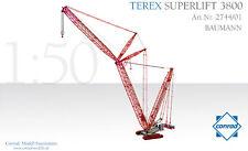 Conrad 2744-01 Terex Baumann 3800 Superlift Crawler Crane 1/50 scale Diecast MIB