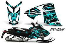 Ski-Doo Rev XR Decal Graphic Kit Sled Snowmobile Sticker Wrap 2013+ NIGHTWOLF M