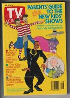 TV Guide Mag Where's Waldo Darkwing Duck Sept/October 4, 1991 112019nonr