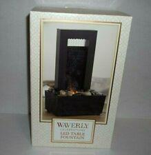 Waverly Celebrations - LED Water Table Fountain - NIB