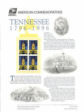 #487 32c Tennessee Statehood #3070 USPS Commemorative Stamp Panel