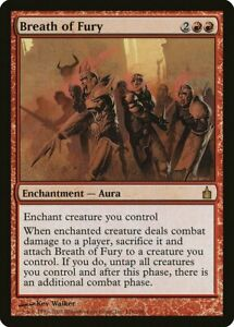 Breath of Fury Ravnica: City of Guilds PLD Red Rare MAGIC MTG CARD ABUGames