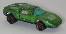 Redline Hotwheels Light Green  1972 Mercedes Benz C-111 oc13747