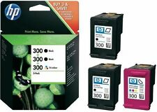 3x HP 300 ORIGINAL TINTE PATRONEN DESKJET D1660 D2560 D2660 D5560 F2420 F2480