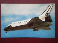POSTCARD AIR SPACE SHUTTLE ATLANTIS RETUNING TO EARTH