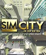 SimCity 3000 -- Sim City Building Simulation Windows PC Computer Game - LOW SHIP