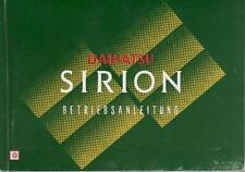 DAIHATSU SIRION Betriebsanleitung 1998 Bedienungsanleitung Handbuch Bordbuch BA