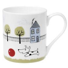 dotcomgiftshop COFFEE MUG DOG + BALL DESIGN. KITCHEN FINE BONE CHINA COFFEE MUG