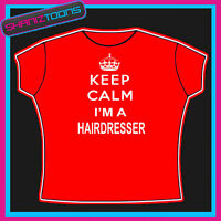 Hairdresser Young Woman Ladies T-shirt//Tank Top q851f
