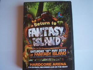 UPRISING - 18.5.2013 - RETURN TO FANTASY ISLAND, HARDCORE ARENA -  6 CD PACK