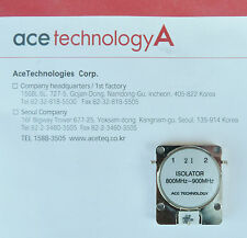 NEW ACE TECHNOLOGIES TECHNOLOGY A ISOLATOR 800MHZ~900MHZ RF COAXIAL CIRCULATOR