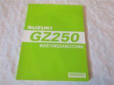 Suzuki GZ250 X Werkstatthandbuch Wartungsanleitung Reparaturhandbuch 1998