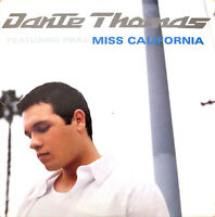 Dante Thomas Featuring Pras CD Single Miss California - Europe (VG/EX+)