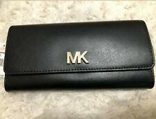 Micheal KORS Black Leather Envelope Wallet