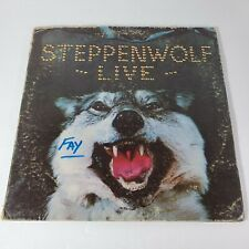 """STEPPENWOLF """"LIVE"""" 1970 Rock 2 LP Dunhill Records DSD50075 Born To Be Wild"""