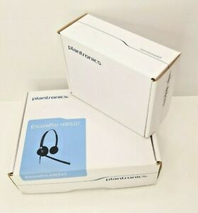 Headset Plantronics EncorePro HW520 & Adapter Cable 72442-41 Office & Home
