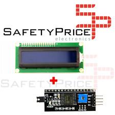 LCD 1602 Schermo Blu + Adattatore Iic / I2C Compatibile Arduino Display