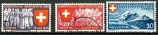 SWITZERLAND - SVIZZERA - 1939 - Esposizione naz. a Zurigo - serie (in tedesco)