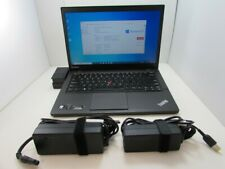 Lenovo ThinkPad T440s Ultrabook 14″ i5 1.9GHz 8GB 256GB SSD W10 +DOCK+AC+Monitor