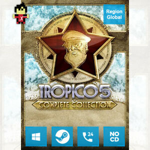 Tropico 5 Complete Collection for PC Game Steam Key Region Free