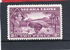 Sierra Leone GV1 1938-44 2d mauve sg 191 LH.Mint