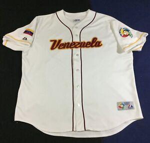 Venezuela 2006 World Baseball Classic Majestic Jersey Size2XL