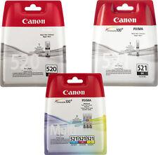 SET ORIGINAL TINTE PATRONEN für CANON PIXMA MP540 MP550 MP560 MP620 MP630 MP640