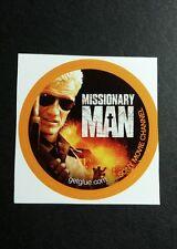 "MISSIONARY MAN SONY CHANNEL PHOTO MOVIE SMALL 1.5"" GET GLUE GETGLUE STICKER"