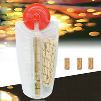 Cigarette Lighter 6Flints +1Cotton Core Replacement in Dispenser A+NEW