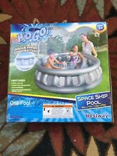 New listing H2O Go Inflatable Spaceship Kids Swimming Pool 60in x 17in! Bestway Brand New!