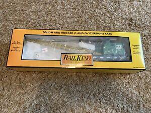 M.T.H Rail King Burlington Northern American Crane Car No. 30-79163