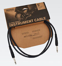 "D'ADDARIO/PLANET WAVES PW-CGT-05,  5 FOOT 1/4"" CLASSIC INSTRUMENT CABLE"