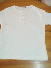 POLO BLANCO MANGA LARGA TALLA S