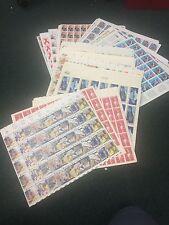 U.S. Mint Sheet Group. $1000.00 Face. A Nice Assortment. 4 Cents-41Cents.