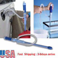 63cm Liquid Transfer Siphon Pump Hand Gas Oil Water Tank Battery Power Aquarium