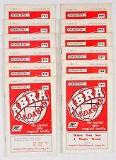 12x Goodliffe's Abracadabra 1960/61 Volume 30 No 769 to 780