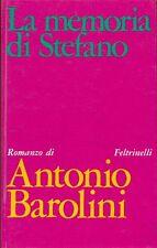 BAROLINI Antonio (Vicenza 1910-1971), La memoria di Stefano