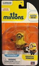 """Minions Medieval Minion Poseable 2"""" Figure New Thinkway Toys"""