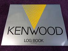 Kenwood Amateur radio Logbook .... Made 1987