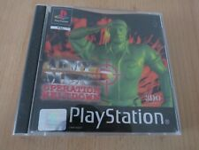 Army Men PS1 Game Operation Meltdown Playstation 1 PAL
